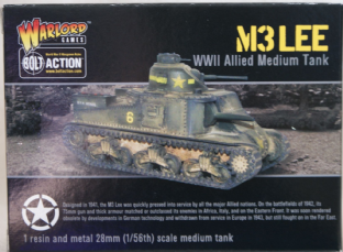 Warlord Games 28mm WGB-AI-124 M3 Lee